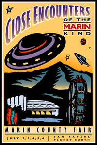 1997 Marin Fair poster art